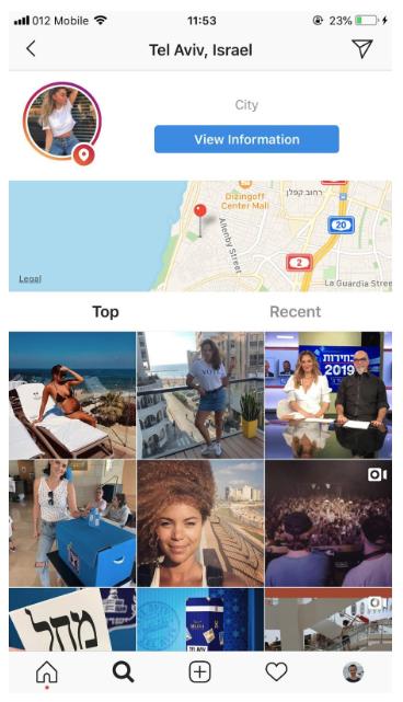 instagram geo targeting