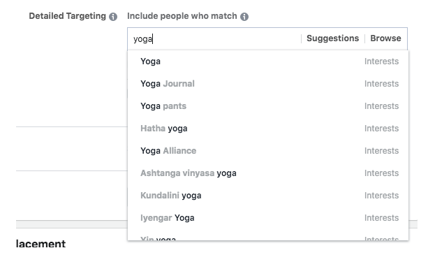 מיקוד בפייסבוק